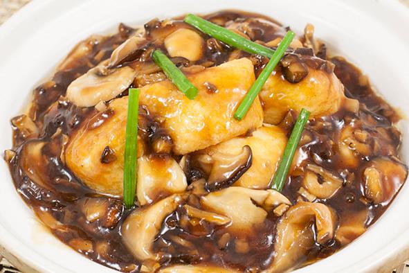 菌香豆腐煲